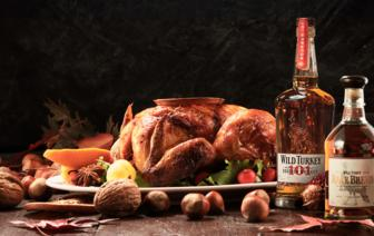 Wild Turkey Thanksgiving