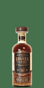 Broken Barrel Cask Strength Rum & Rye Cask Finish Flaviar Exclusive