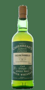 Cadenhead's Old Bushmills 16 Year Old 1977 Cask Stregth