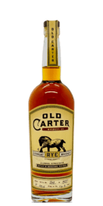 Old Carter Straight Rye Whiskey Batch 6