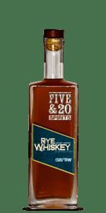 Five & 20 Straight Rye Whiskey