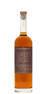 Turley Mill Single Barrel Straight Rye Cask Strength Whiskey