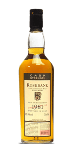 Rosebank 1981 Flora and Fauna Cask Strength
