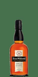 Evan Williams Single Barrel Bourbon Vintage 2010