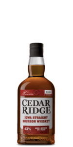 Cedar Ridge Iowa Straight Bourbon