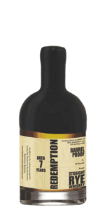 Redemption 7 Year Old Barrel Proof Rye