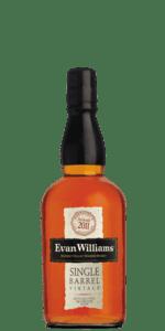 Evan Williams Single Barrel Bourbon Vintage 2011