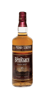 BenRiach 15 Year Old Pedro Ximenez Sherry Finish