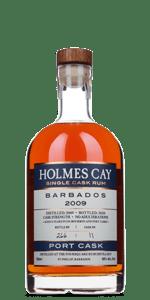 Holmes Cay Barbados 2009 Port Cask Rum