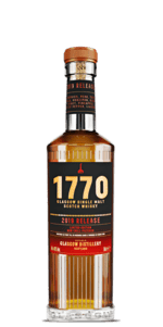 Glasgow 1770 Single Malt Scotch Whisky 2019 Release