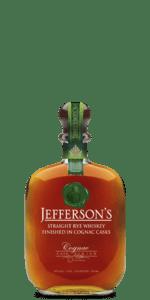 Jefferson's Cognac Cask Finish Rye Whiskey