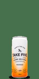 TAKE FIVE Mango Hard Seltzer 12-Pack