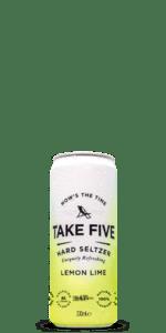 TAKE FIVE Lemon Lime Hard Seltzer 12-Pack
