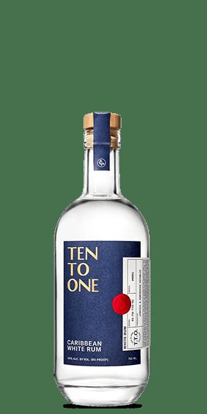 Ten To One Caribbean White Rum