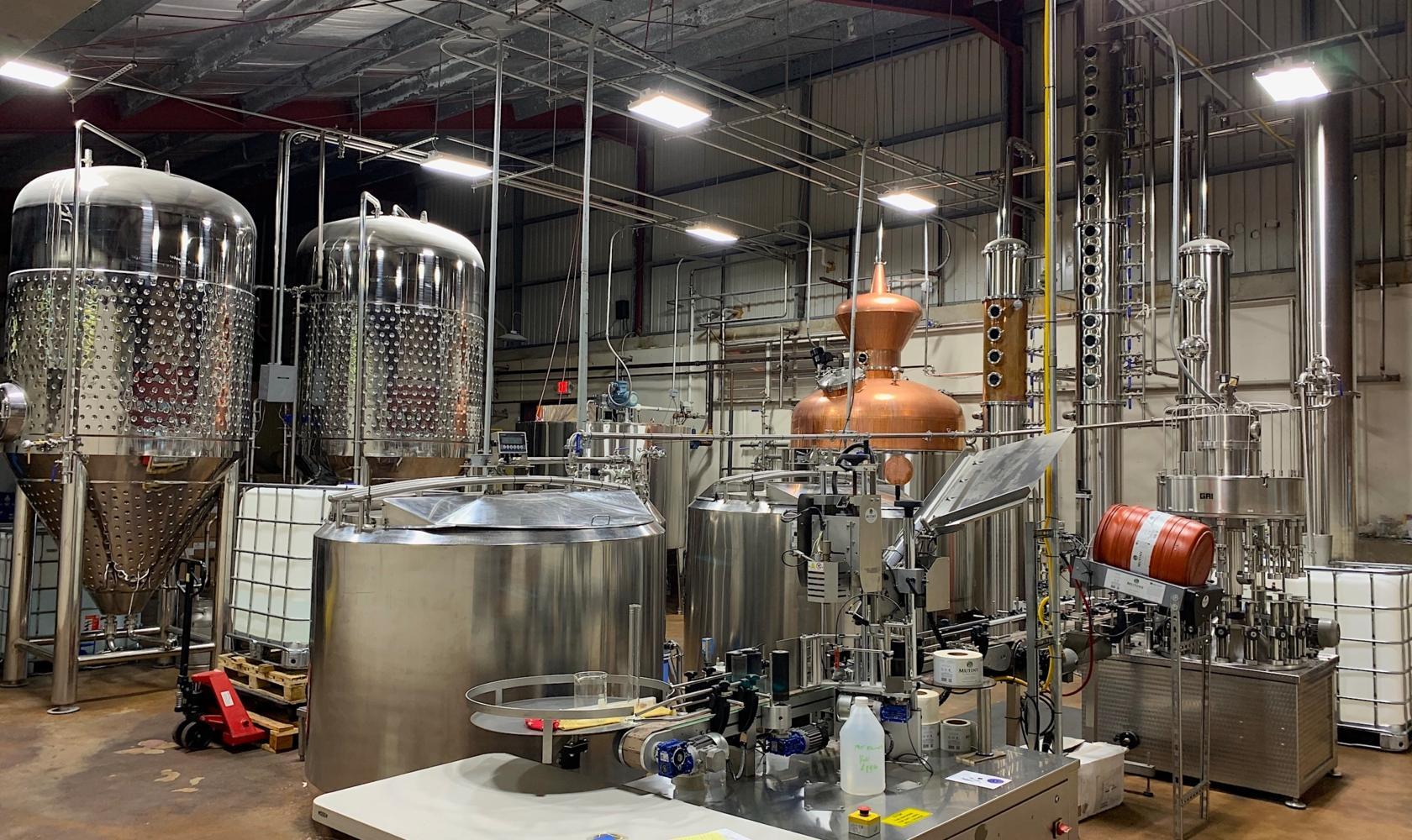 Scion Farm Distillery - amazing still setup