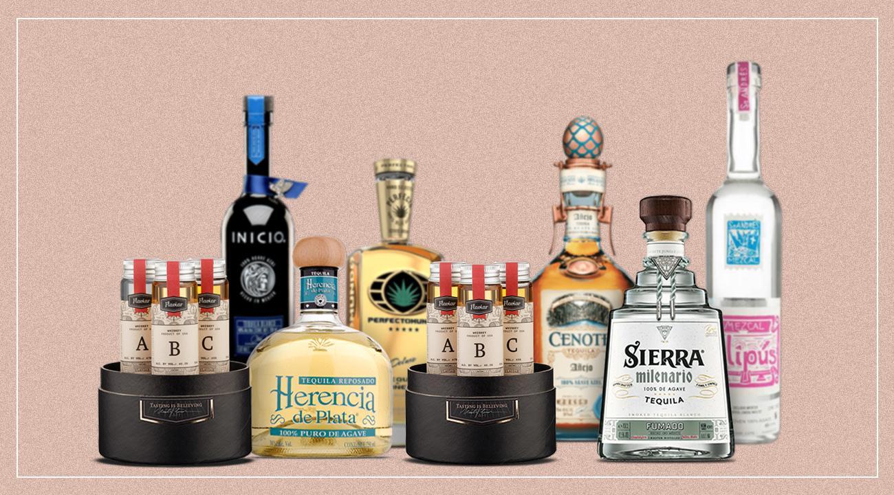Tequila tasting box