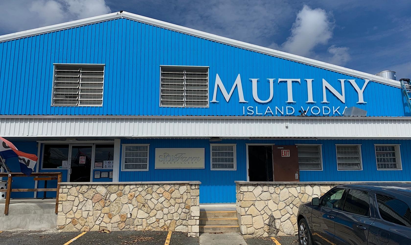 Scion Farm Distillery - Mutiny Vodka Building
