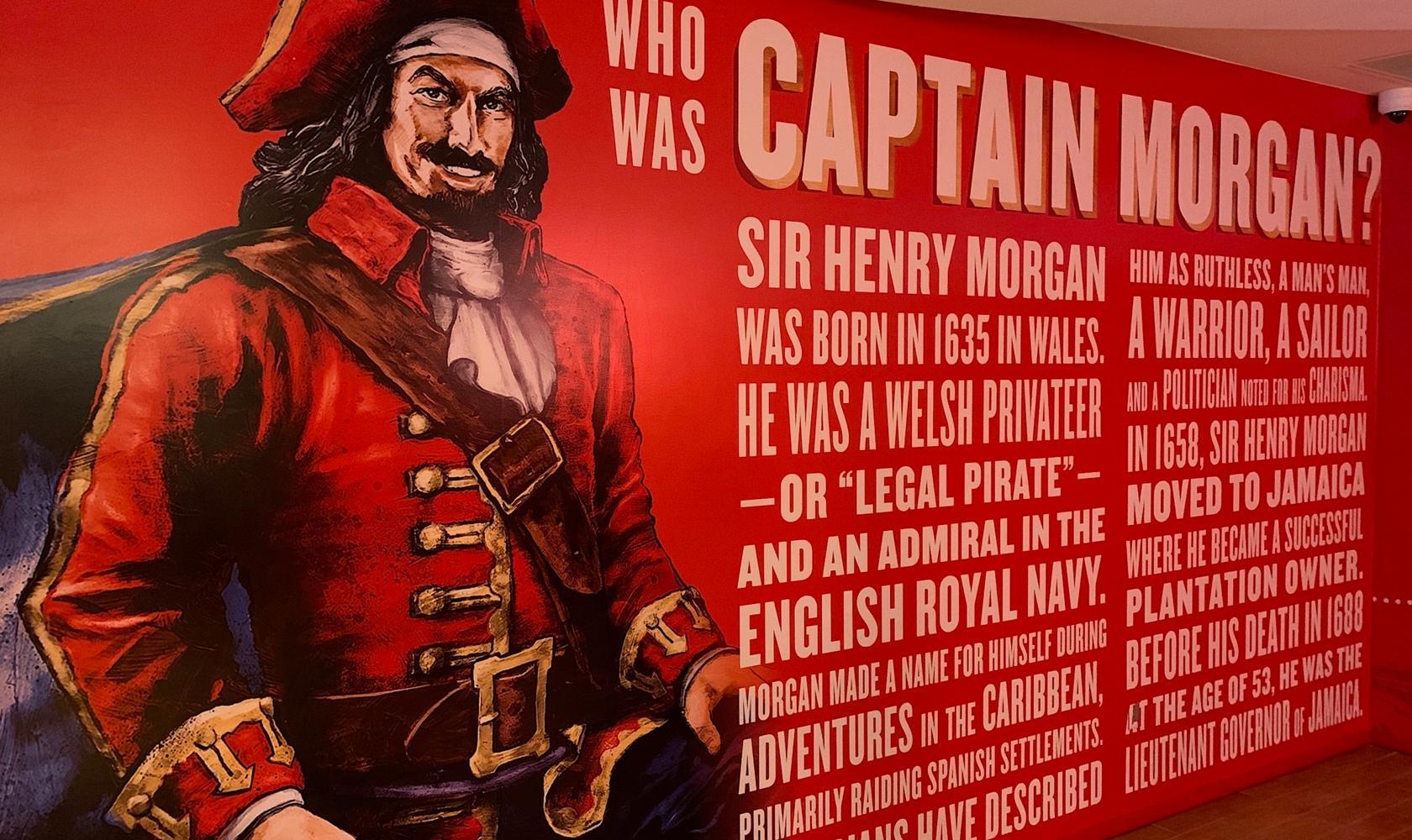 Captain Morgan Distillery - Who was Captain Morgan?