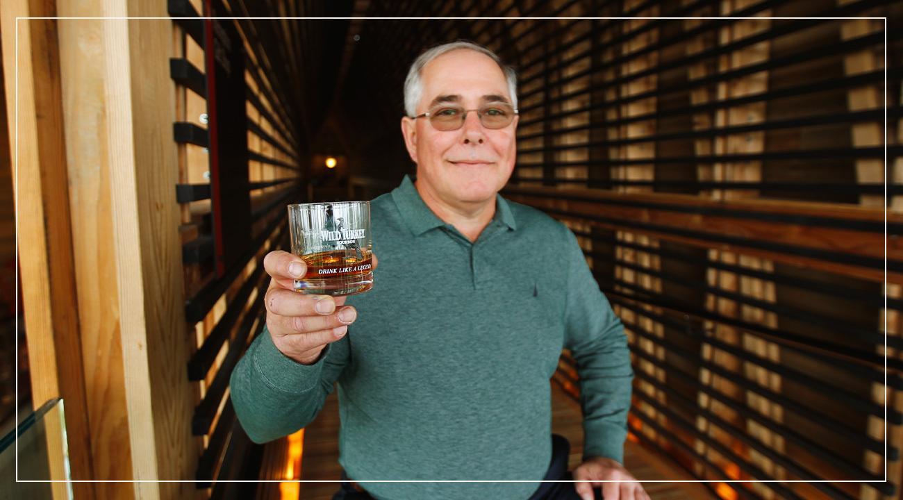 Eddie Russel, Master Distiller at Wild Turkey