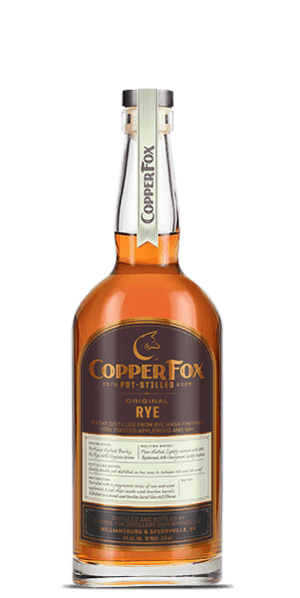 Copper Fox Rye Whisky