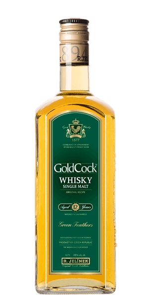 Gold Cock Whisky 12 YR