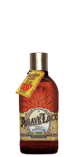 Agave Loco Pepper Cured Tequila Resposado