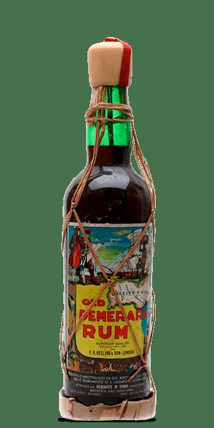 E.H. Keeling & Son Old Demarara Rum 1960s Bottling