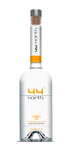 44° North Mountain Sunnyslope Nectarine Vodka