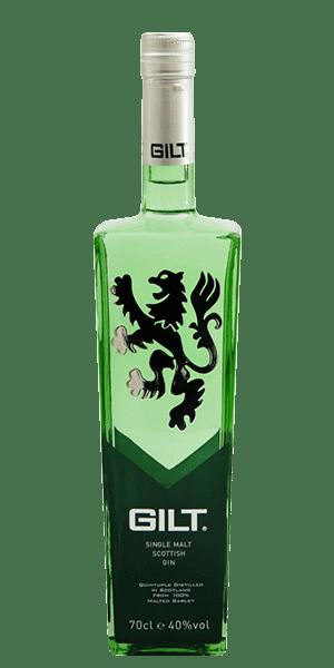 Strathleven's Gilt Single Malt Gin