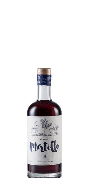 Freihof Mirtillo Blueberry Liqueur