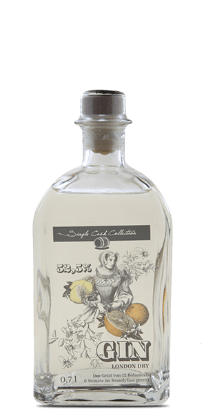 Single Cask Collection London Dry Gin Brandy Cask Finished