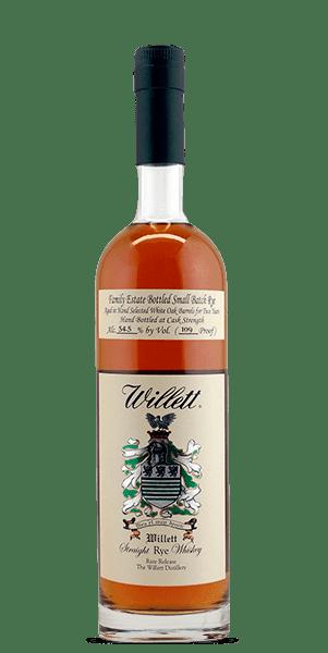 Willett Family Estate Small Batch 2 Year Old Straight Rye Whiskey