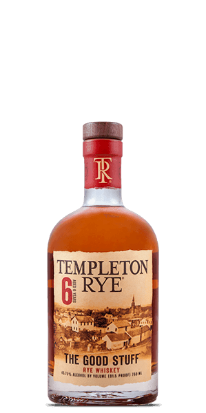 Templeton 6 Year Old Rye Whiskey