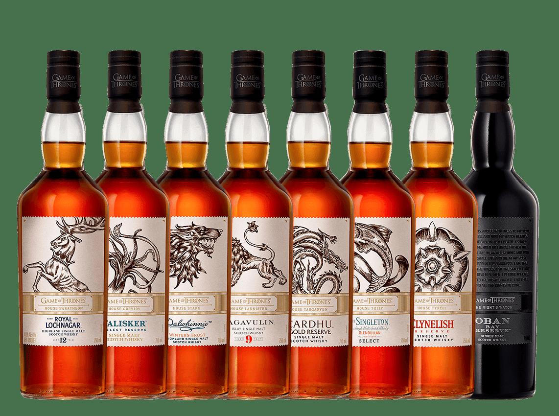 Game of Thrones Full Whisky Set