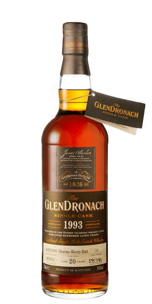 The Glendronach 1993 Oloroso Sherry Butt 20YO