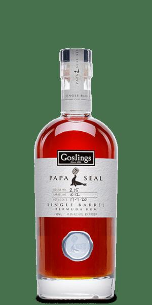 Goslings Papa Seal Single Barrel Bermuda Rum 2020 Release