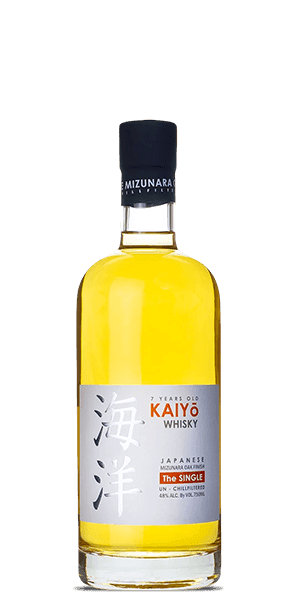Kaiyo The Single Japanese Mizunara Oak Whisky