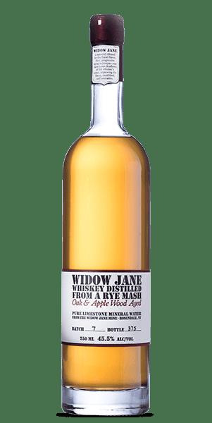 Widow Jane Distilled From a Rye Mash - Oak & Apple Wood Aged Whiskey