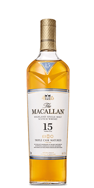 The Macallan 15 Year Old Triple Cask Matured