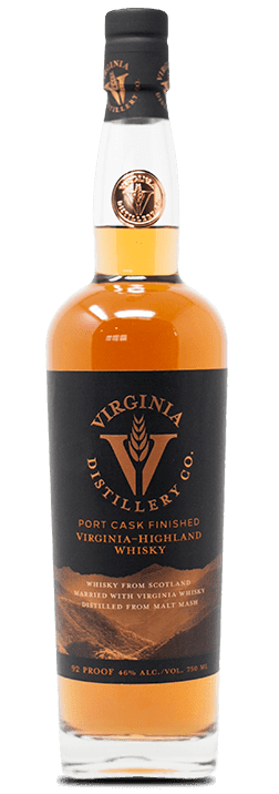 Port Cask Finished Virginia Highland Whisky