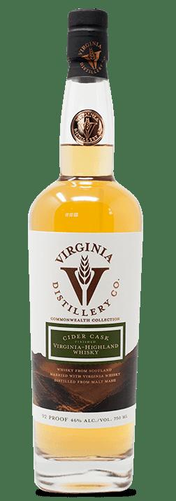 Cider Cask Finished Virginia Highland Whisky