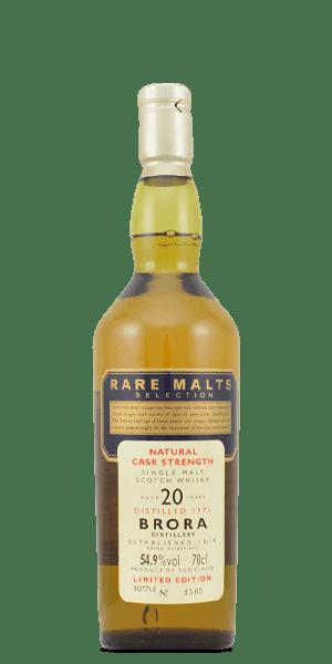 Brora 1975 20 Year Old Rare Malt