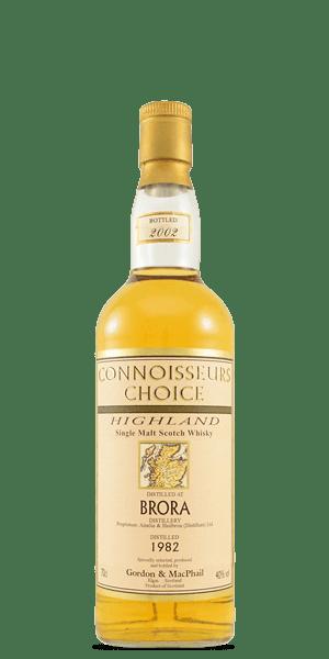 Brora 1982 Connoisseurs Choice (Gordon and MacPhail)