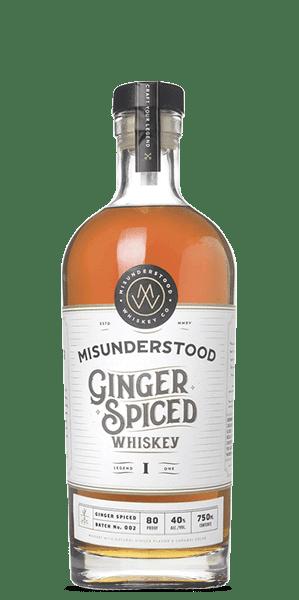 Misunderstood Ginger Spiced Whiskey