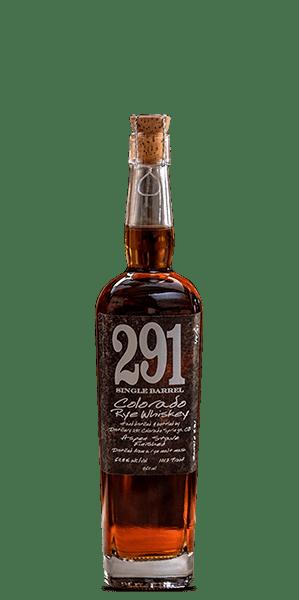 291 Colorado Small Batch Rye Whiskey