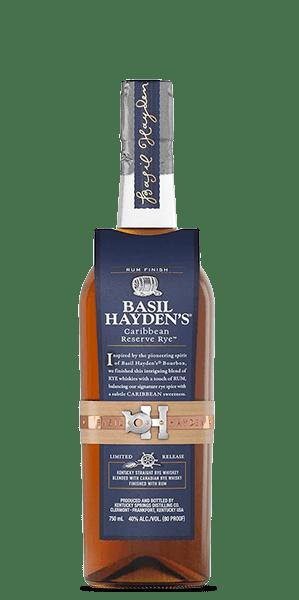Basil Hayden's Caribbean Reserve Rye