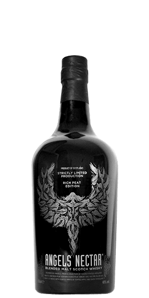 Angels' Nectar Blended Malt Whisky Rich Peat Edition