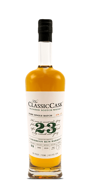 The Classic Cask 23 Year Old Caribbean Rum Finish