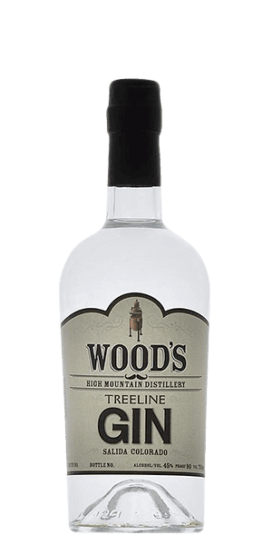 Wood's High Mountain Distillery Treeline Gin