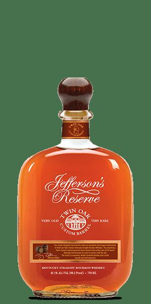 Jefferson's Twin Oak Kentucky Straight Bourbon